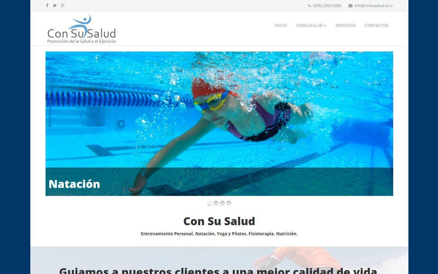 Con Su Salud Sitio Web