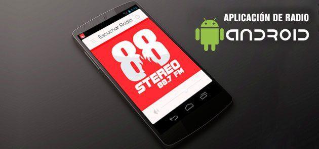 Aplicacion Radio Android