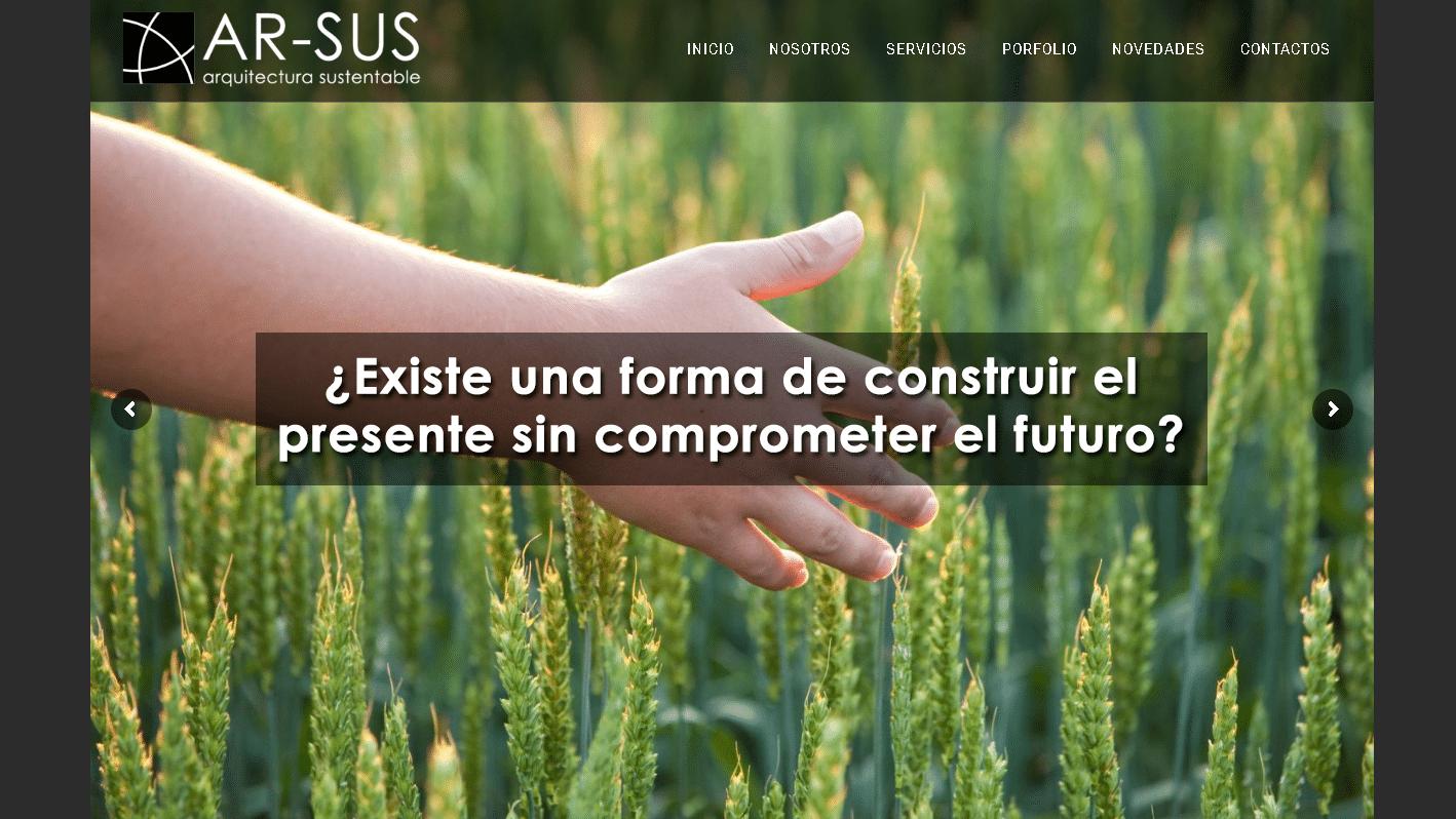 AR-SUS Arquitectura Sustentable